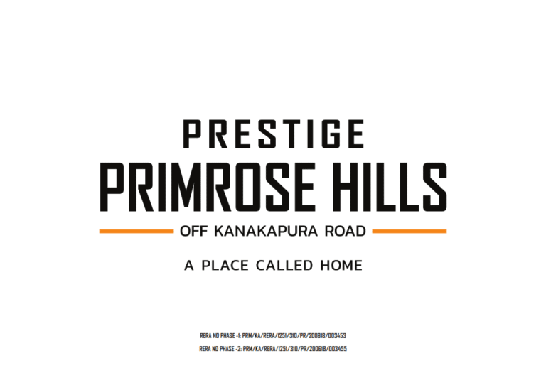 Prestige Primrose Hills